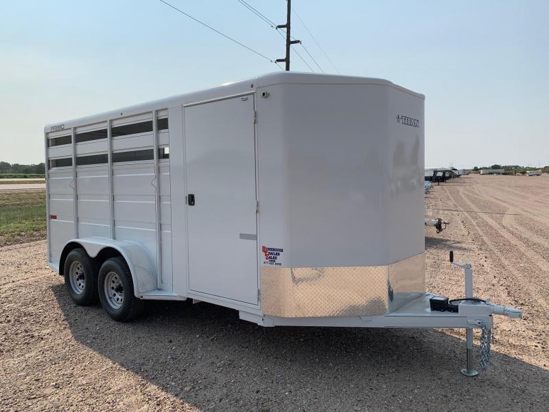 2021 Titan Trailers PRIMO BH 3 HORSE Livestock Trailer