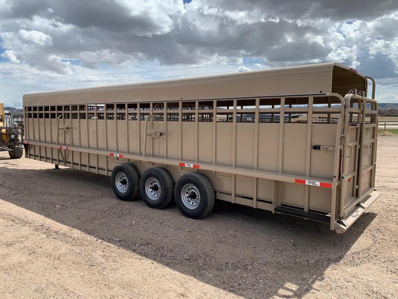 2021 Big Bend 32' x 7' Full Top Livestock Trailer