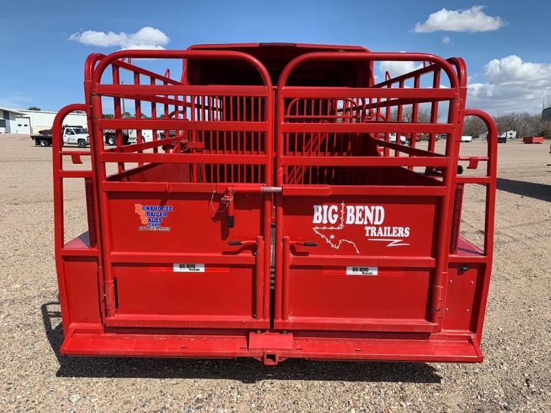 2021 Big Bend 18' HALF TOP Livestock Trailer