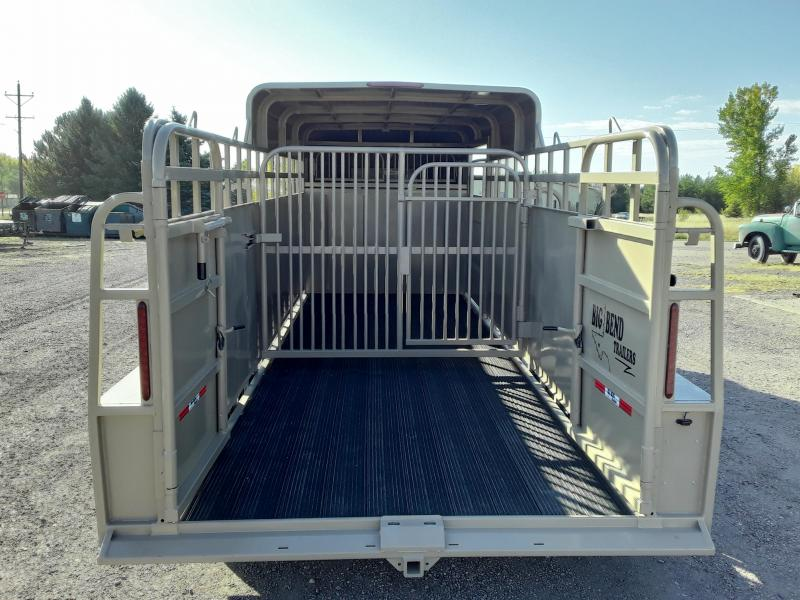 2021 Big Bend 22 HALF TOP Livestock Trailer