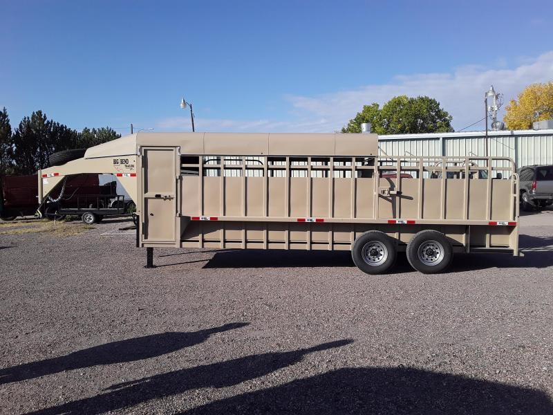 2021 Big Bend 22 HALF TOP Livestock Trailer