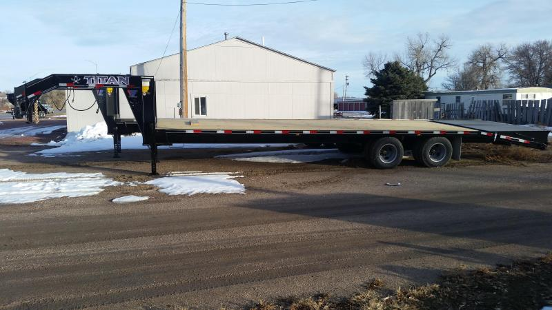 2020 Titan Trailers 30' RUFFNECK FLATBED Flatbed Trailer