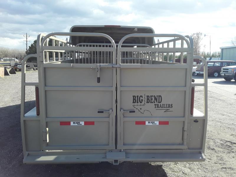 2021 Big Bend 24' HALF TOP Livestock Trailer