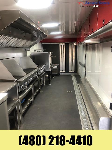 2019 Aluminum Trailer Company 8.5X40 Enclosed Cargo PRO KITCHEN TRAILER