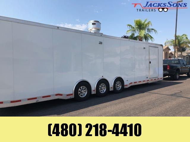 2019 Aluminum Trailer Company 8.5X40 Enclosed Cargo PRO KITCHEN TRAILER
