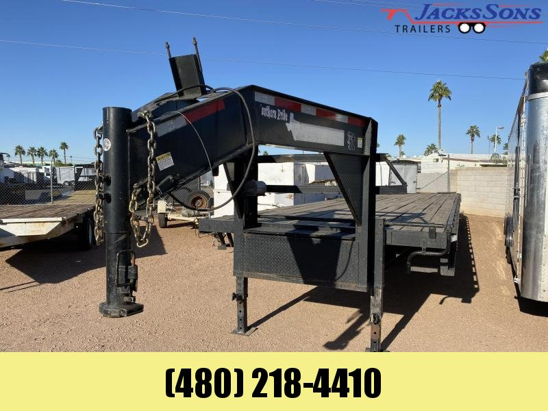 2016 Texas Pride Trailers 102X40 Flatbed Trailer