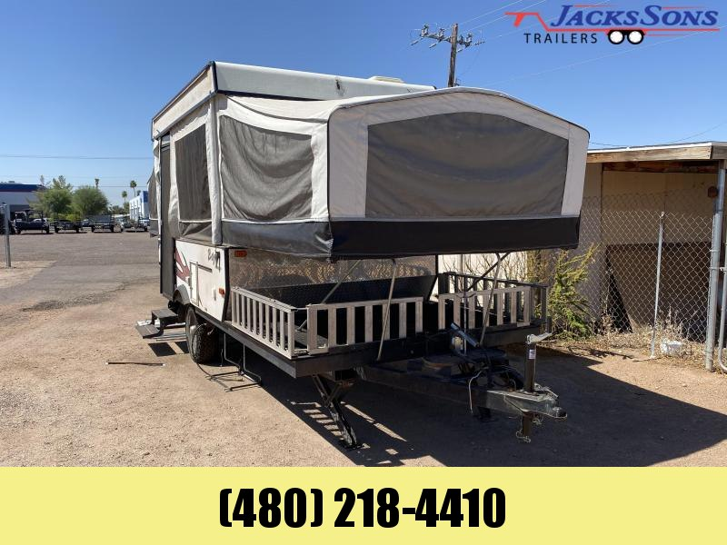 2008 Jayco BAJA CAMPER Enclosed Cargo Trailer
