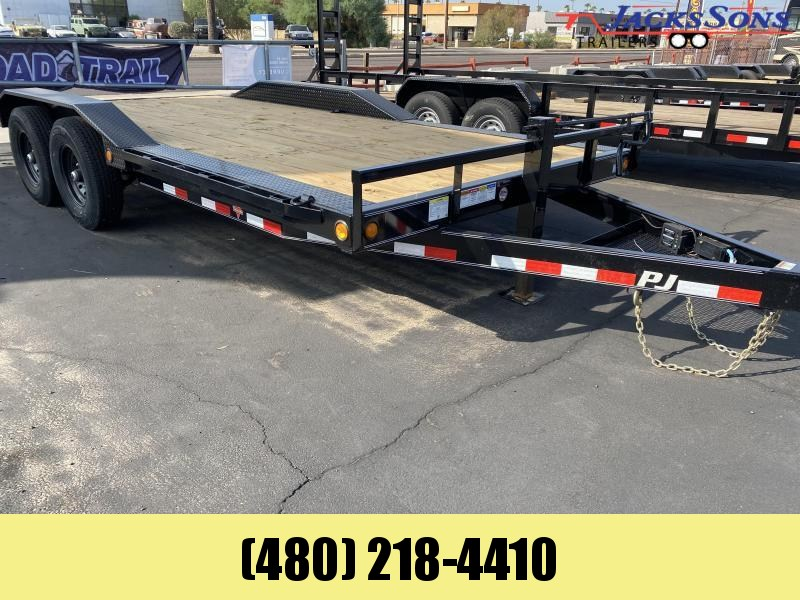 2021 PJ Trailers 102X18 Equipment Trailer