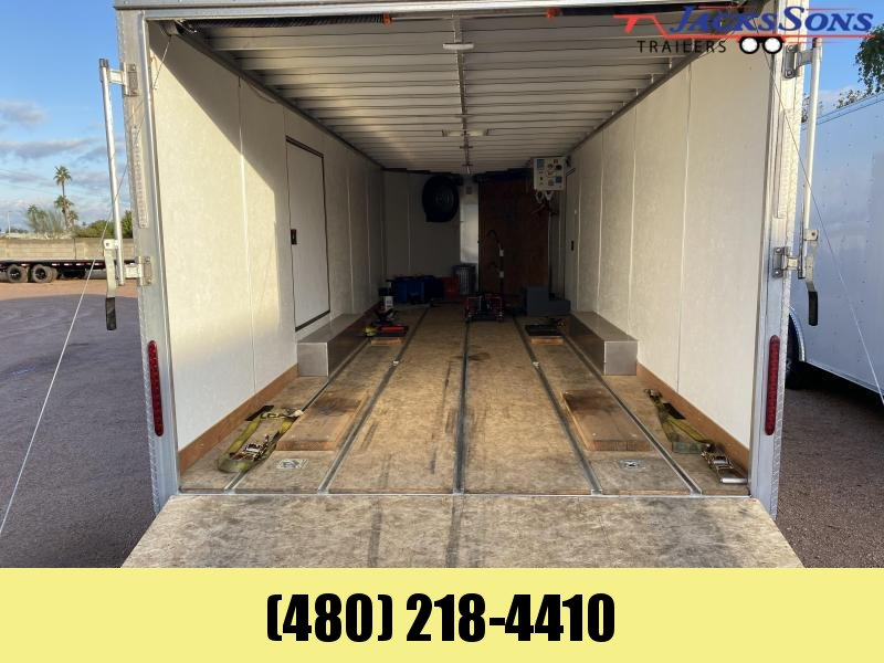 2017 Pro Line 8X28 Enclosed Cargo Trailer
