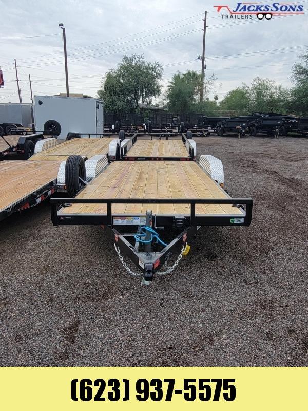 2022 PJ Trailers PJ Trailers 18' 7k Car Hauler Dovetail Car / Racing Trailer