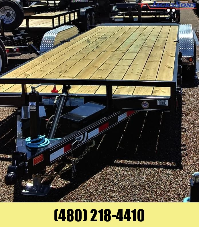 2020 PJ Trailers 22X83 HYDRAULIC QUICK TILT Equipment Trailer