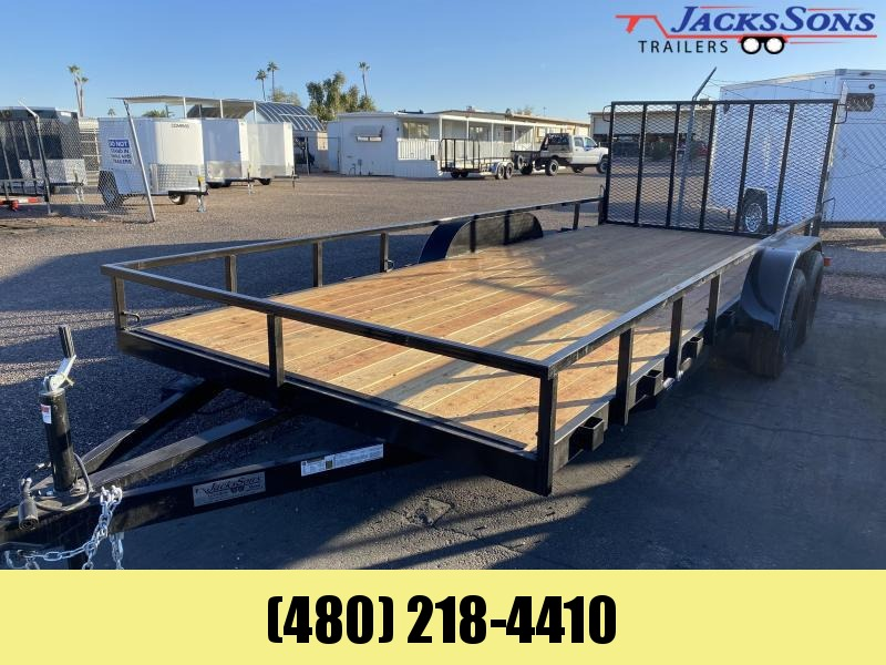 2020 Work And Play 81x18 Utility Trailer