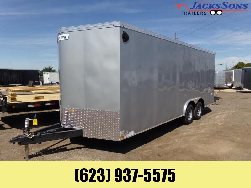 2020 Haulmark 8.5 X 20 TRANSPORT EXT HEIGHT / TONGUE Enclosed Cargo Trailer