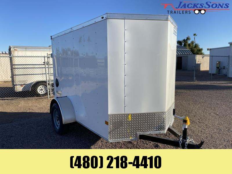 2021 Haulmark 5x8 Enclosed Cargo Trailer