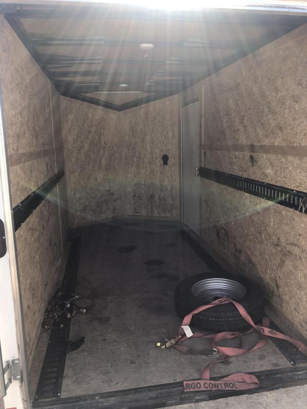 6x12 Haulmark Transport Enclosed Cargo Trailer Rental