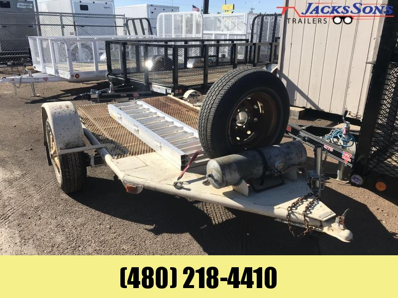 2000 Other 5X8 Flatbed Trailer