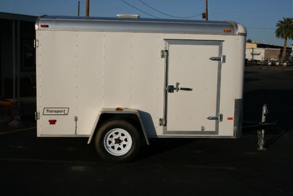 5x10 Haulmark Trailers Ramp Cargo / Enclosed Trailer Rental