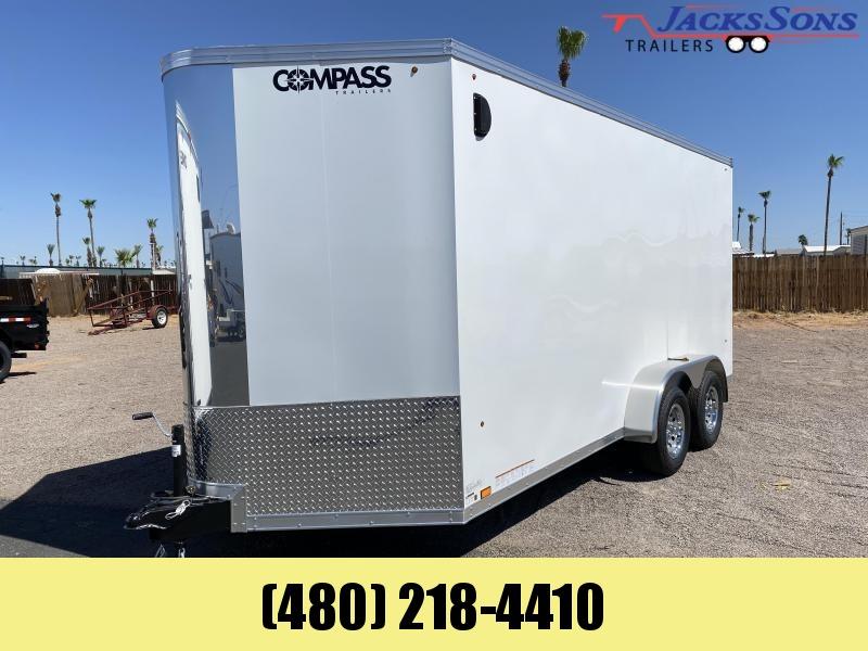 2021 Compass 7x16 Enclosed Cargo Trailer