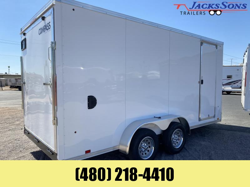 2021 Compass 7x16 Enclosed Cargo Trailer