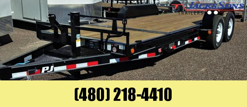 2020 PJ Trailers 20X6 CHANNEL EQUIPMENT TILT Equipment Trailer