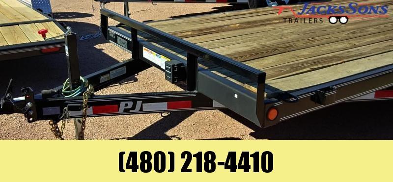 2020 PJ Trailers 20X5 CHANNEL EQUIPMENT Equipment Trailer