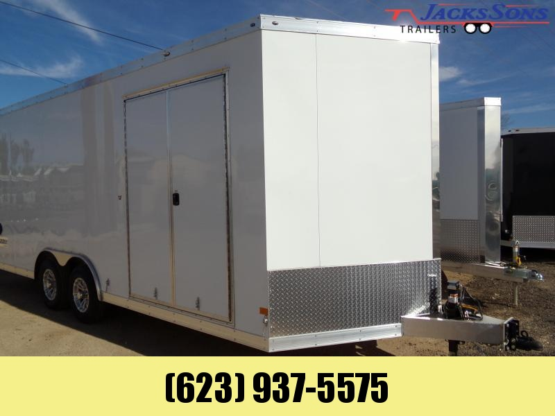 2021 Haulmark 8.5 X 20 ALX GRIZZLY 7.6 HIGH ALUM. Enclosed Cargo Trailer