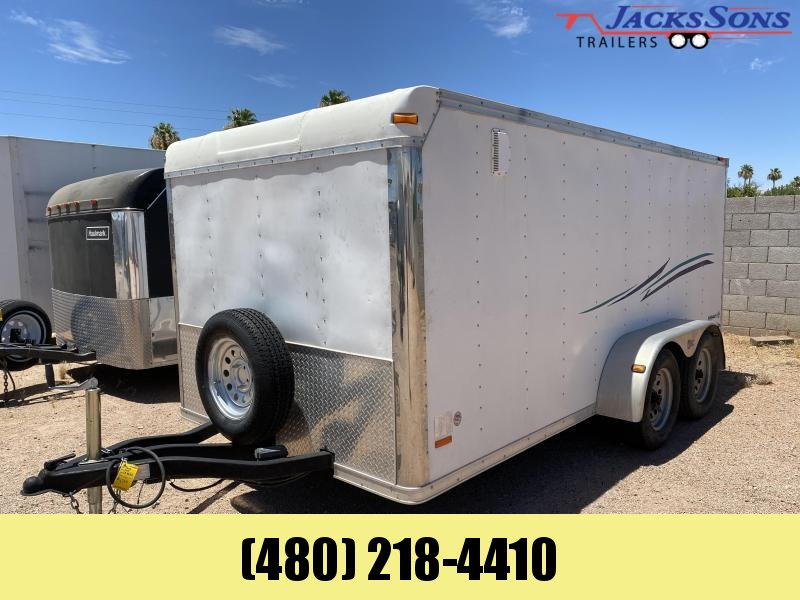 2005 Pace American 7X14 LOW HAULER Enclosed Cargo Trailer
