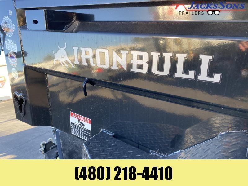 2021 Iron Bull 5X10 Dump Trailer
