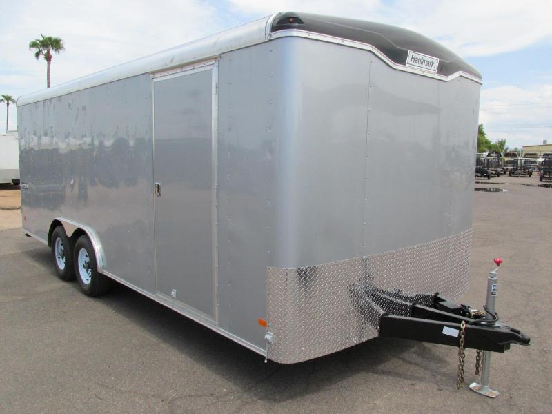 20x8.5 Enclosed Car Trailer Rental