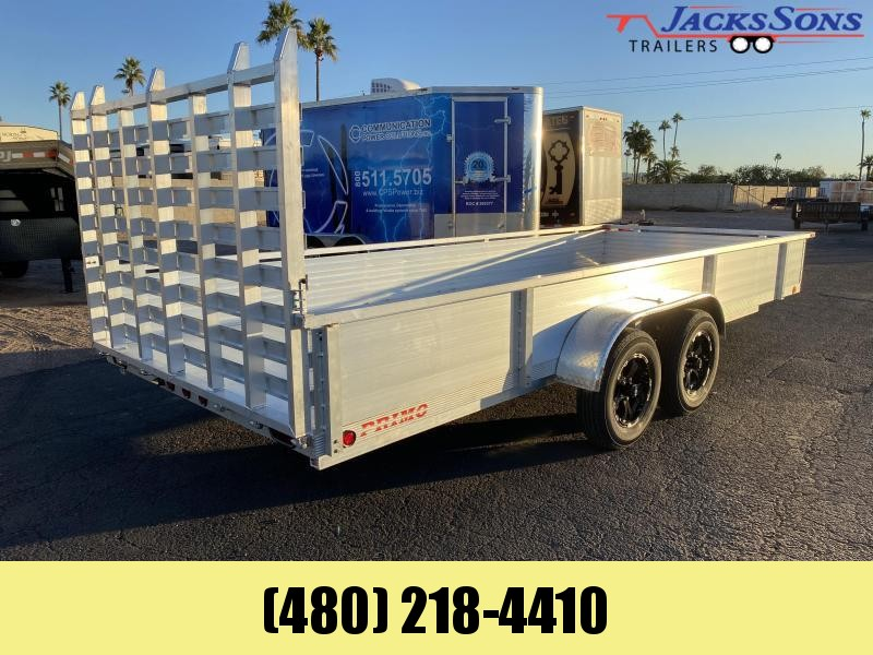 2021 Primo 82x14 Utility Trailer Please call for current price and availability