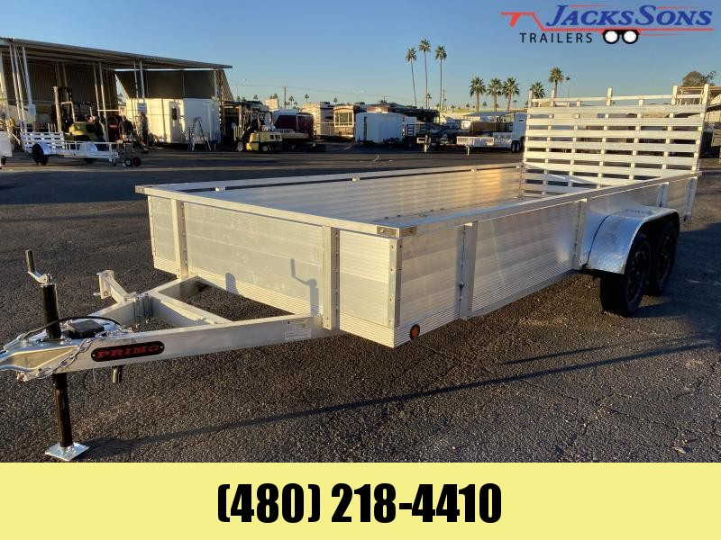 2021 Primo 82x18 Utility Trailer Please call for current price and availability