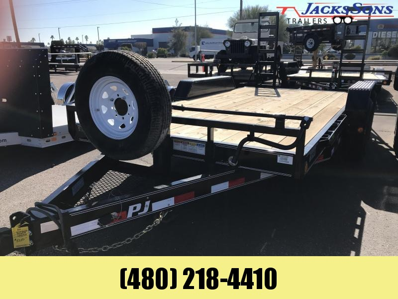 2020 PJ Trailers 83x16 Equipment Trailer