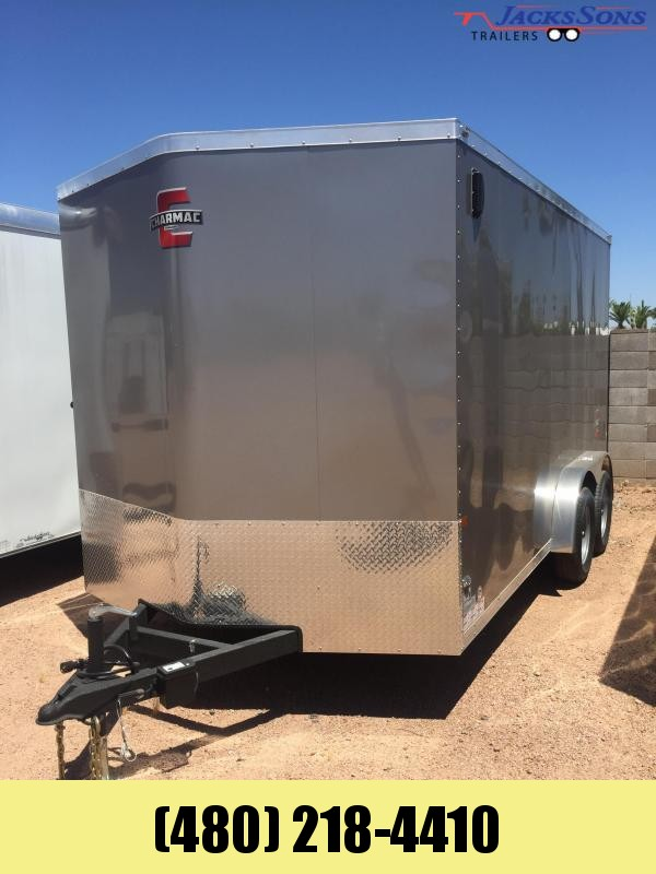 2020 Charmac Trailers 7X14 Enclosed Cargo Trailer