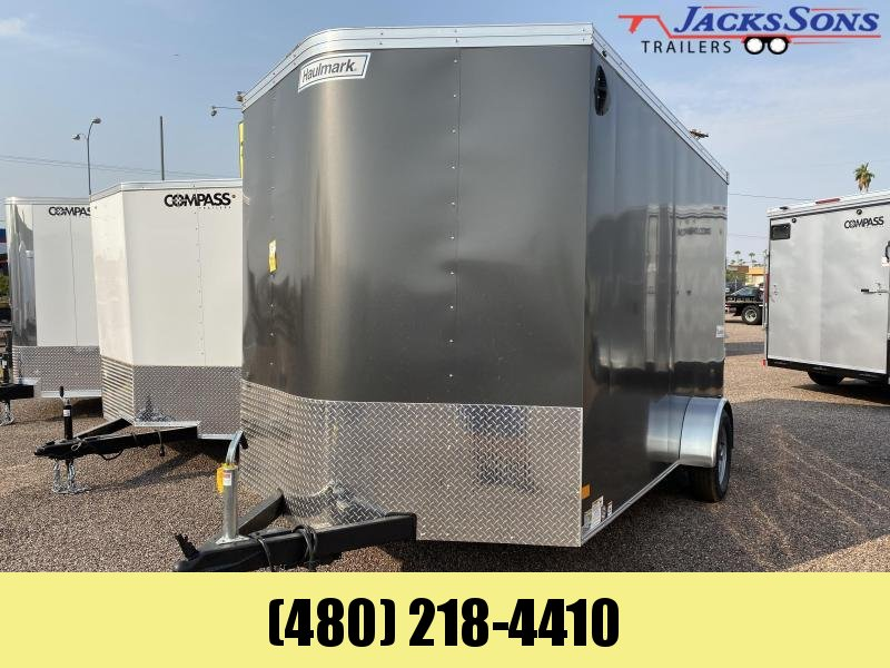 2021 Haulmark 7x12 Enclosed Cargo Trailer