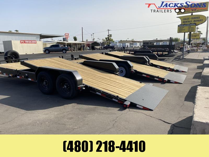 2021 PJ Trailers 81X18 Equipment Trailer
