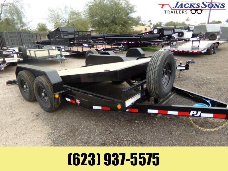 2020 PJ Trailers T6 16 FT. 14K TILT EQUIPMENT HAULER Equipment Trailer