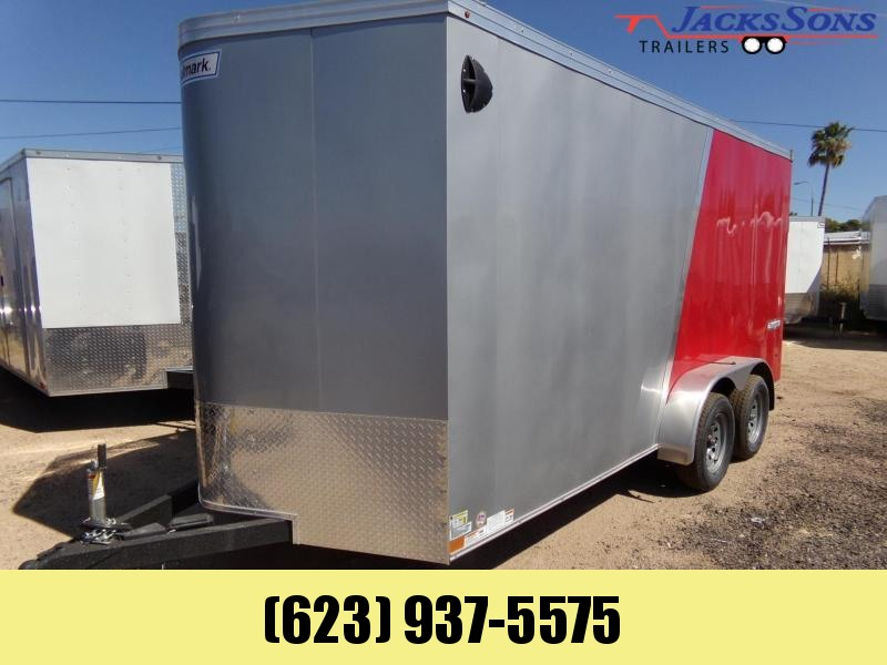 2020 Haulmark 16 X 7 UTV PACKAGE X-TRA HEIGHT 2 TONE Enclosed Cargo Trailer