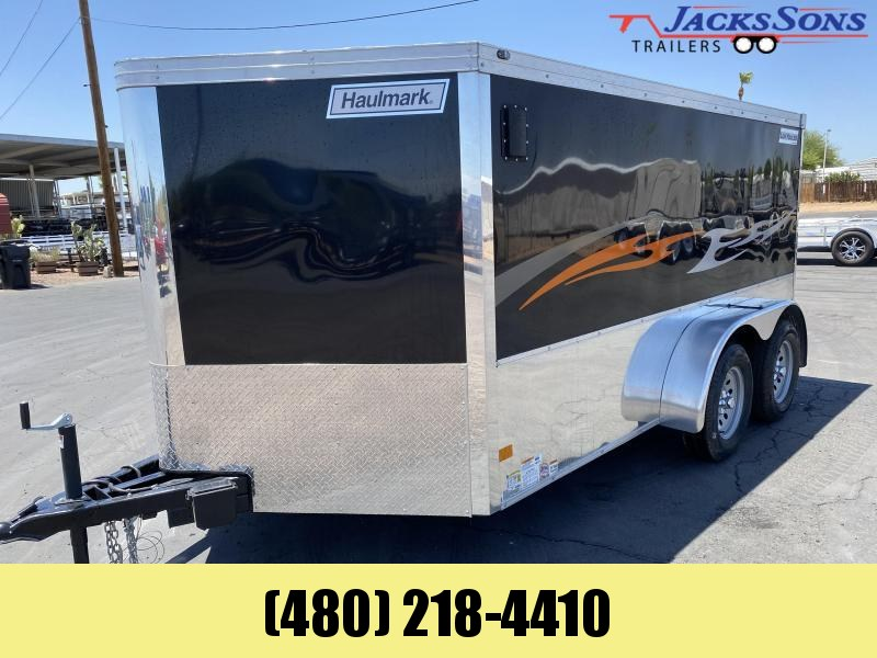 2021 Haulmark 7x12 LOW HAULER Enclosed Cargo Trailer