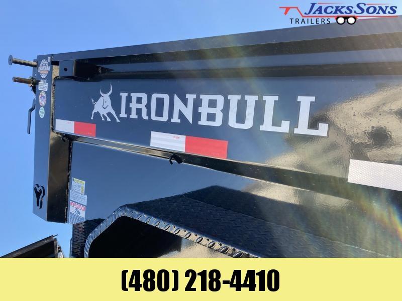 2021 Iron Bull 6X10 Dump Trailer