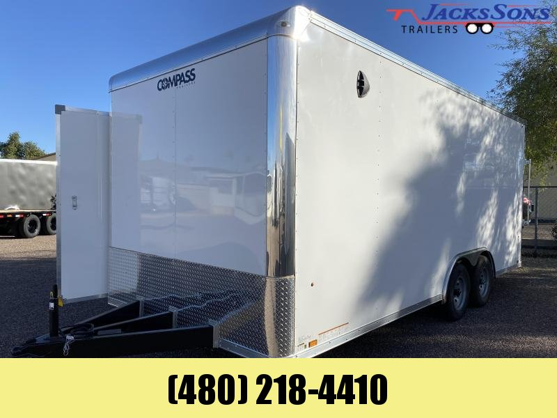 2021 Compass 8.5x20 Enclosed Cargo Trailer