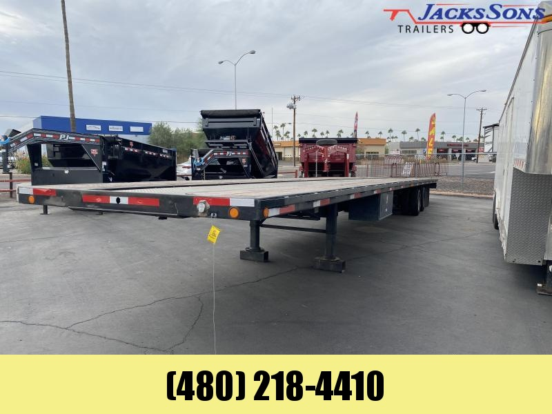 1988 K Trail 102X48 Flatbed Trailer