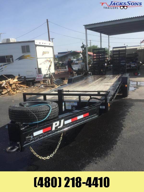 2020 PJ Trailers 83x24 Equipment Trailer