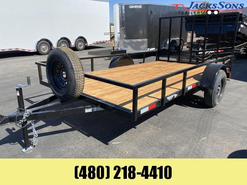 2021 Work And Play 77X12 Utility Trailer