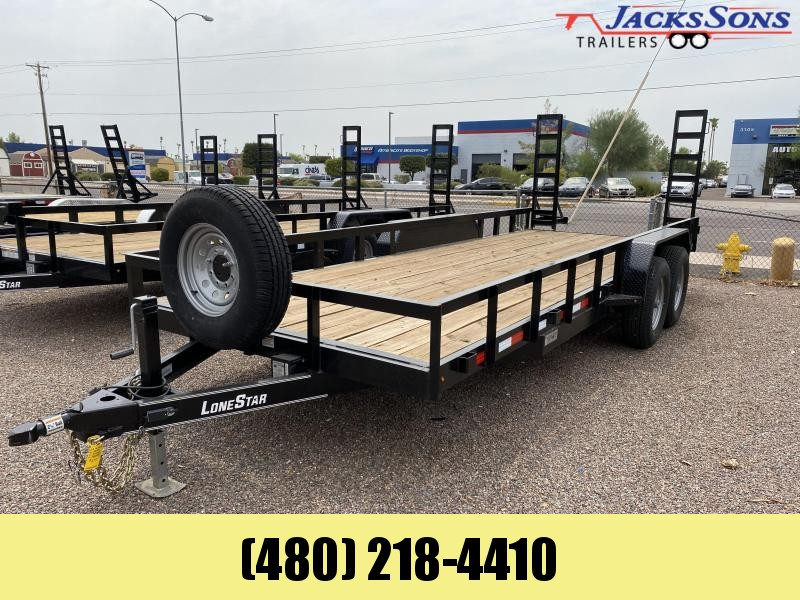 2020 Lonestar 83X20 Equipment OR CAR HAULER Trailer