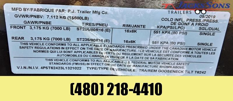 2020 PJ Trailers 24X6 CHANNNEL SUPER WIDE Equipment Trailer