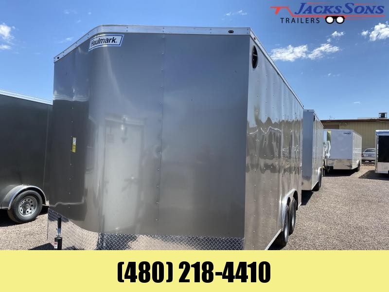 2021 Haulmark 8.5X16 Enclosed Cargo Trailer