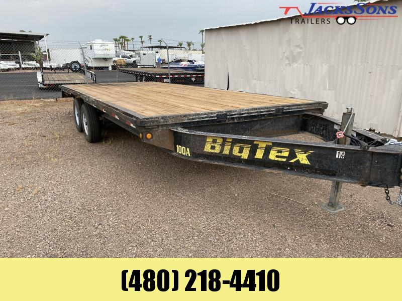 2007 Big Tex Trailers 102X20 Flatbed Trailer