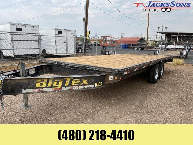 2007 Big Tex Trailers 102X20 Flatbed Trailer