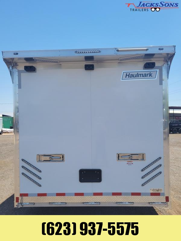 2021 Haulmark 8.5x 24 Aluminum Enclosed Haulmark Edge Trailer Car / Racing Trailer