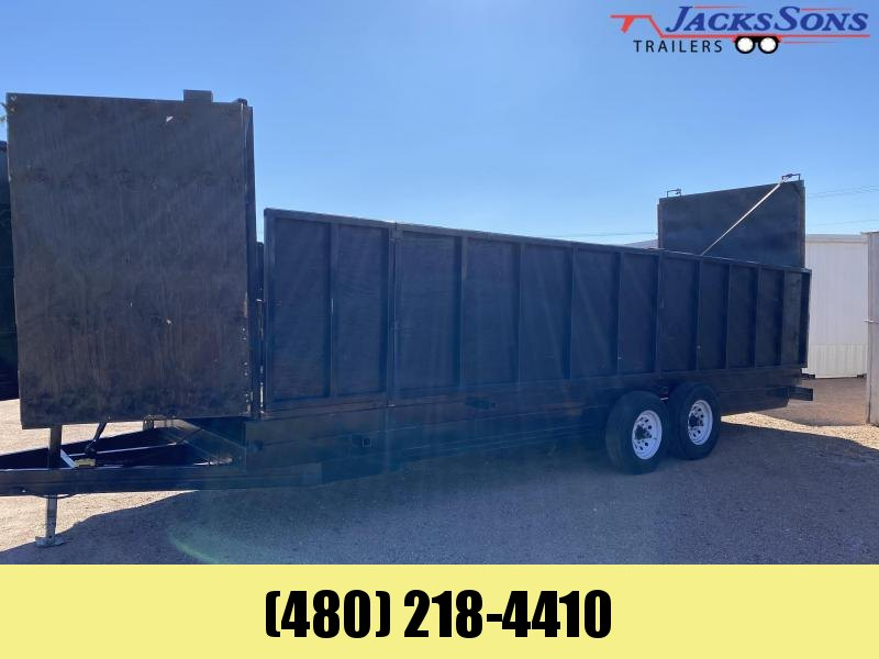 2018 Homemade 7X20 Dump Trailer